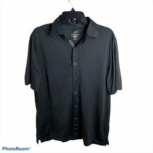 Greg Norman Button Down Men's Golf Shirt Medium